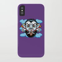 cunt iPhone & iPod Cases featuring Cunt Dracula by harebrained