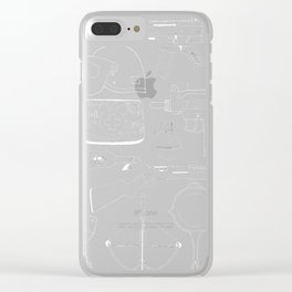 Playerunknown's Battlegrounds The Arsenal - PUBG White Clear iPhone Case