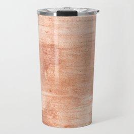Burly wood hand-drawn aquarelle Travel Mug