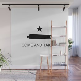 Texas Come and Take It Flag Wall Mural