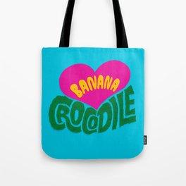 Banana Love and the Crocodile  Tote Bag