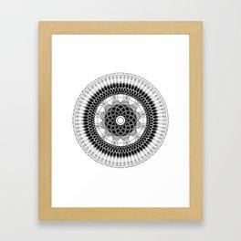 ABUNDANCE MANDALA Framed Art Print