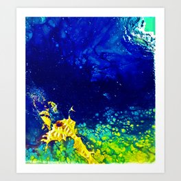 Spectraness of Outerspace Art Print