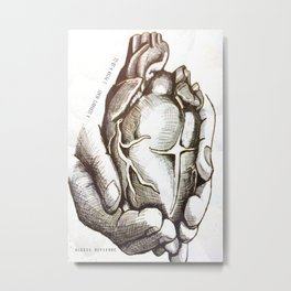 A Servant Heart Metal Print