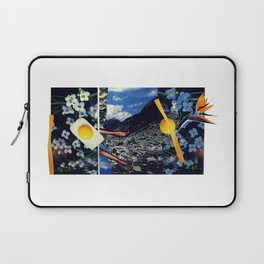 Wind pollination   Collage Laptop Sleeve