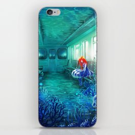 Reflected Memory iPhone Skin