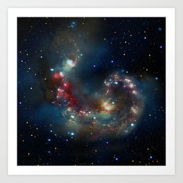 Galactic Spectacle Art Print