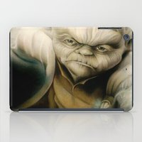 yoda iPad Cases featuring Yoda by Colunga-Art