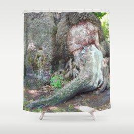 Tree Talk 7 Shower Curtain