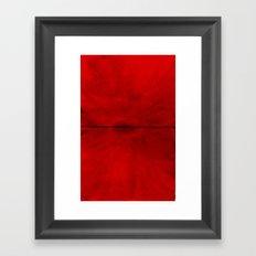 Red Eye Framed Art Print