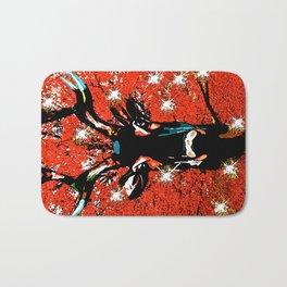 Reindeer Sparkle Bath Mat