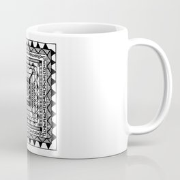Square Pattern Coffee Mug