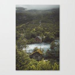 Cabins Canvas Print