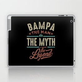 Bampa The Myth The Legend Laptop & iPad Skin