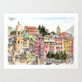 Vernazza, Italy, 2016 Art Print