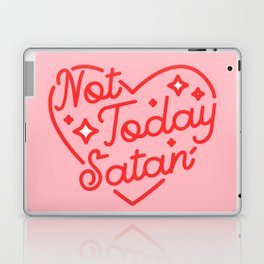not today satan II Laptop & iPad Skin