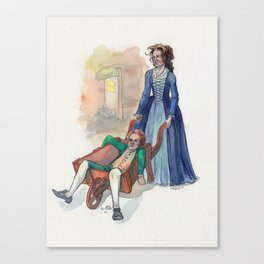 Hambarrow Canvas Print