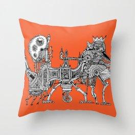Brewerpoddle Throw Pillow