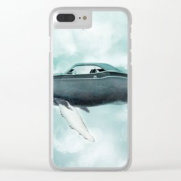 Humpback Cadillac Clear iPhone Case