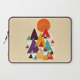 Let's visit the mountains Laptop Sleeve