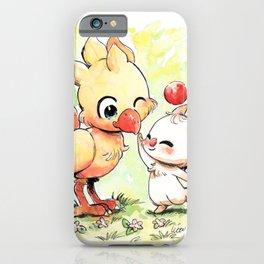 Chocomog cute watercolor iPhone Case