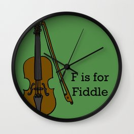Fiddle, Typed Wall Clock