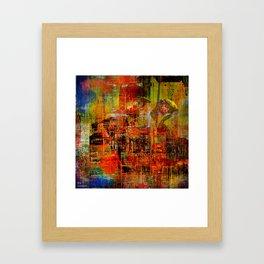 Quartier de Belleville 1925 Framed Art Print