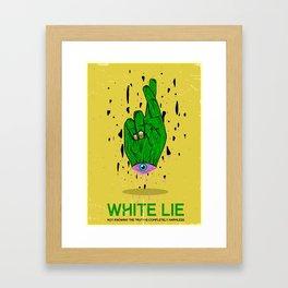 Whitelie Framed Art Print