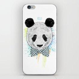Hello Panda iPhone Skin