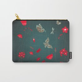 Tatemae Japanese Green Carry-All Pouch