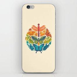 Bugs & Butterflies iPhone Skin