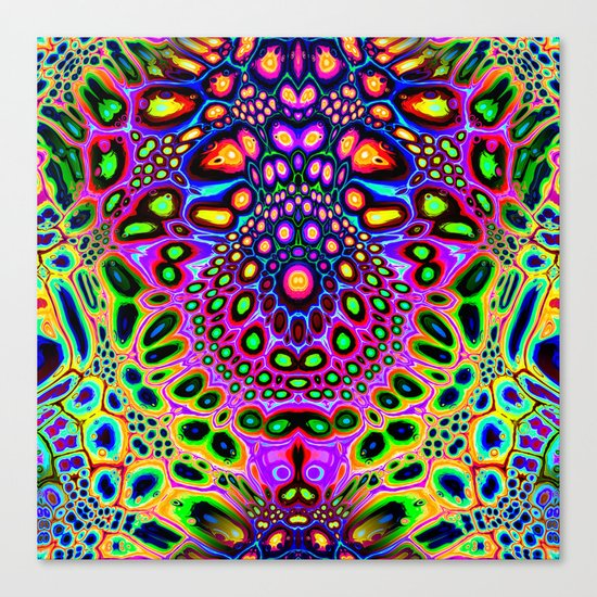 Abstract Spectral Symmetry Canvas Print