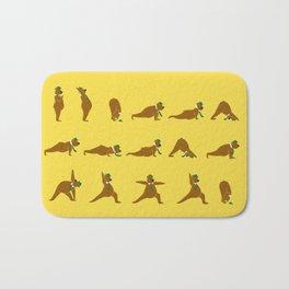 Yoga Bear - Classic Bath Mat