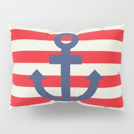 Anchor - Nautical Pillow Sham