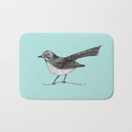Willy Wagtail Bath Mat