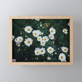 FLOWER SPACE Framed Mini Art Print