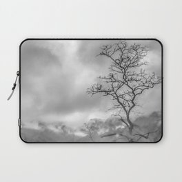 Mist in mountains Laptop Sleeve