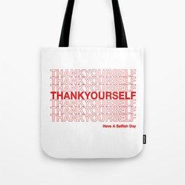 THANKYOURSELF Tote Bag