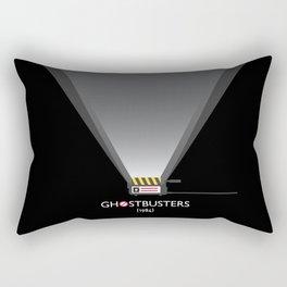 Ghostbusters minimalist poster Rectangular Pillow
