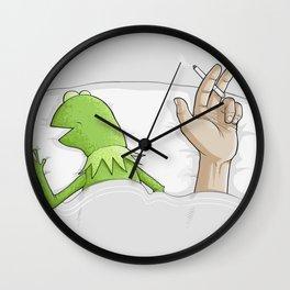 Crazy night Wall Clock