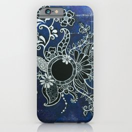 Blooming Blackhole iPhone Case