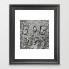 Bob - 47 St Framed Art Print