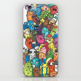 Stacks of Monsters iPhone Skin