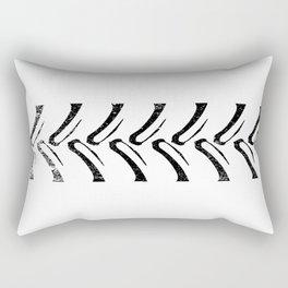 Tractor Tread Grunge Rectangular Pillow