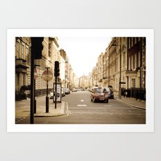 London Portrait Art Print