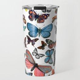BUTTERFLY CLUSTER Travel Mug