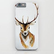Buck - Watercolor iPhone 6 Slim Case