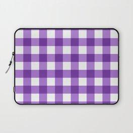 Purple Buffalo Check - more colors Laptop Sleeve