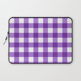 Purple Buffalo Check - more colors Laptop Sleeve