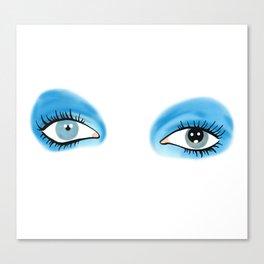 Life on Mars - Eyes Canvas Print